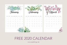 fervory Calendario 2020 Pared 2019-2020 Calendario Pintado A Mano Calendario De Planificaci/ón Sencilla Colgante Horario De Calendario Nota