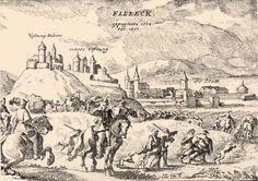 Fülek 1554/1593  Fülek ostroma 1593-ban. (Ortelius, I. 140.)