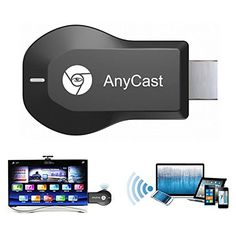 Introducing NAMEO AnyCast Wireless WiFi Display Dongle AnyCast M2 Plus Airplay 1080P Wireless WiFi Display TV Dongle Receiver HDMI TV Stick DLNA Miracast for Android Smart Phones Tablet PC. Great Product and follow us to get more updates!