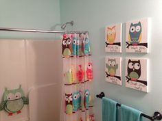 Kids Owl Bathroom Art Part 38