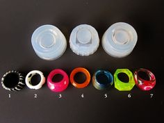 Rings Mold Clear Silicone Molds for multiple styles and by RESILIN, $20.00