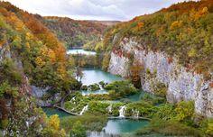 Pitvlice Lakes National Park in Croatia