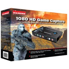 Capture & Edit Your Games from gaming consoles such as Xbox® 360 & PS3®, or VHS, DVD player, camcorder or satellite set top box. Share Your Recorded Gameplay Sessions on You TubeTM & Facebook®. Record & Play with No Delays Vhs Dvd, Video Capture, Ps3, Camcorder, Xbox 360, Consoles, Gaming, Facebook, Video Camera