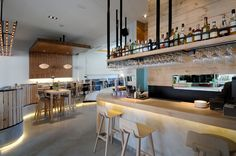 spanish design: Restaurante madrileño prat&co