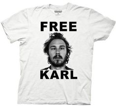 Save $7.05 on WORKAHOLICS -- FREE KARL -- MENS TEE; only $17.95