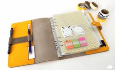 Comment creer son organiseur filofax : agenda/finances/cuisine/menage .... le top de l'organisation