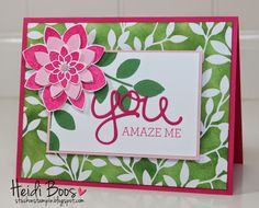 Stuck on Stampin': Creation Station Blog Hop - Irresistibly Yours