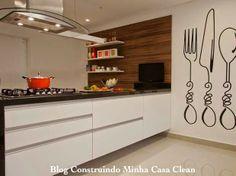 Talheres na Parede da Cozinha! Tendência na Decoração Moderna!!!