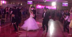 May jumped in at the end of the dance: she was ecstatic!