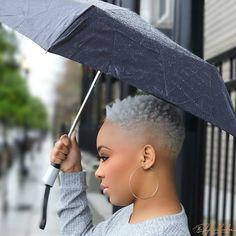 Short Curly Hair Black, Natural Hair Short Cuts, Tapered Natural Hair, Short Hair Cuts, Natural Hair Styles, Black Hair, Hair To Go, Love Hair, Men's Hair
