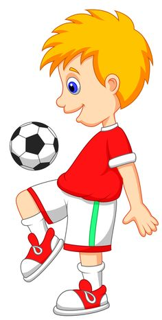 most children love to play football as well as watch them with us now cartoon images for kids football players i do that because i love kids