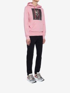 Alexander Mcqueen Crowned Skull Hooded Sweatshirt - XL Hooded Sweatshirts dc2dbb3d931