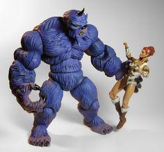 Shadow Beast: MOTU Custom Figure & MOTUC Tela