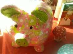 "Piggy bank ""Have a nice day"""