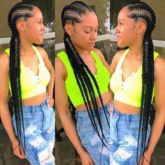Feed in braids extendos houstonbraids dallasbraids dallasbraiders austinbraiders labraiders protectivestyles protective _ cornrowboxbraids braids Feed In Braids Hairstyles, Chic Hairstyles, Trending Hairstyles, Braids For Long Hair, Black Women Hairstyles, Weave Hairstyles, Black Girl Braids, Girls Braids, Rapunzel