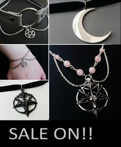 labor day weekend sale now on! Check out OfStarsAndWine on etsy for gothic and nu goth jewelryata a great price!