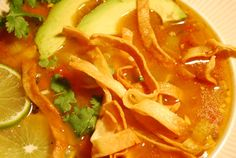 Authentic Mexican Tortilla Soup Recipe That's Really Satisfying Authentic Chicken Tortilla Soup, Mexican Tortilla Soup, Best Tortilla Soup Recipe, Chowder Soup, Mexican Food Recipes, Ethnic Recipes, Mexican Dishes, Chili Soup, Chicken Soup Recipes
