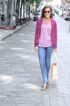 #CAbi - Wear plum this fall! Get Nicole's CAbi look now. #cabiclothing #fallfashion