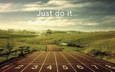 Just do it! Ga voor je doelen en dromen en geloof in jezelf. Inspirerende quotes