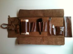 Leather Handmade Pipe Bag by shamanleatherworks on Etsy
