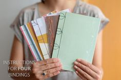 Hey i found this really awesome etsy listing at httpsetsy diy japanese book binding kit in english includes illustrated tutorial do it solutioingenieria Image collections