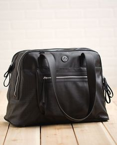 Lululemon Sweat & Go Bag [I can sum up this bag in four words: Store. All. The. Things. (without looking like a gym bag!)]