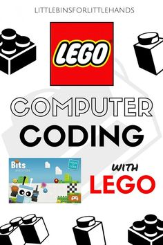 LEGO Computer Coding STEM activities for kids. Build LEGO robots, learn about computer coding, and make a computer free coding game all with LEGO! Hands on technology activities for kindergarten and grade school kids. Lego For Kids, Stem For Kids, Science For Kids, Life Science, Earth Science, Lego Activities, Kindergarten Activities, Computer Activities For Kids, Lego Coding