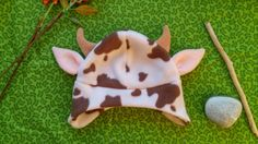 Kid's cow hat by wildimaginationshop on etsy