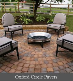 Another idea for the backyard  Google Image Result for http://www.mypatiodesign.com/files/Products/ReadingRock/AccessoryThumbnails/Oxford-Circle-Pavers.gif