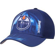 3d6b7356 Edmonton Oilers Reebok Center Ice Second Season Adjustable Hat - Navy