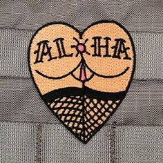 Amazon.com : Aloha Puka Morale Patch : Sports & Outdoors