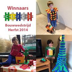 Winners of the  Building Contest - Autumn 2014