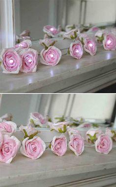 Rose Fairy Lights