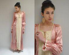 GUNNE SAX Dress  //  Bohemian Dress  //   Romantically Yours on Etsy, $78.00