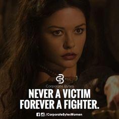 Always a fighter