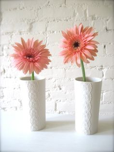Porcelain Lace Flower Vase