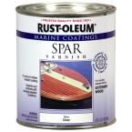 Rust-Oleum Marine 1 qt. Clear Gloss Spar Varnish Coatings (6-Pack), Exterior Polyurethane