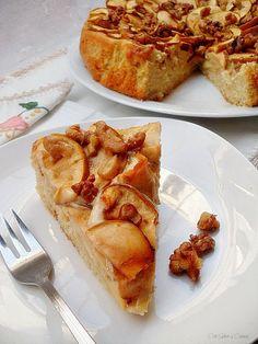 Con sabor a canela: Pastel de manzanas reineta con nueces y canela