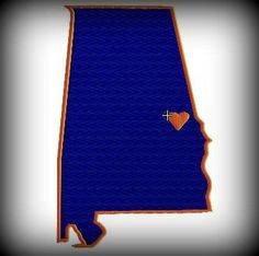 Auburn, AL - Home of the Auburn Football Tigers!  War Eagle