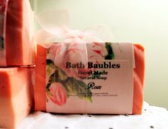 Hand made Rose Soap