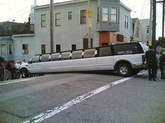 Limo Accidents..I was just doing a U turn