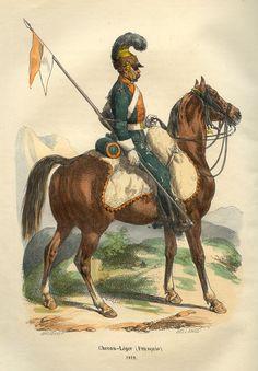 Napoleon_French_Lancer_by_Bellange.jpg (820×1180)