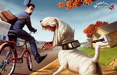 This post showcase magnificent character illustrations by Tiago Hoisel. His portfolio is full of amazing cartoon characters illustrations. Art And Illustration, Illustrations, Cartoon Wallpaper Hd, Dog Wallpaper, Amazing Wallpaper, Travel Wallpaper, Amazing Artwork, Animal Wallpaper, 3d Cartoon