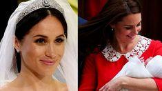 O Simbolismo Oculto do Vestido de Kate Middleton e da Tiara de Meghan Markle