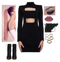 """""""#192"""" by diva-996 on Polyvore featuring Balmain, Gianvito Rossi and Forever 21"""