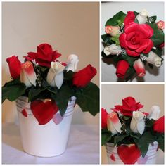 Love You Wooden Roses Bouquet  foreveryourswoodenroses.wordpress.com facebook.com/foreveryourswoodenroses Wooden Roses, Rose Vase, Rose Bouquet, Beautiful Flowers, Vases, Pots, Wordpress, Facebook, Home Decor
