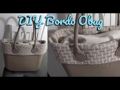 O BAG: COME REALIZZARE GLI ACCESSORI PARTE 1 - YouTube O Bag, Craft Tutorials, Sewing Tutorials, Pochette Diy, Textiles, Craft Videos, Straw Bag, Diy And Crafts, Youtube