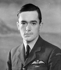 Squadron Leader Frederick Anthony Owen Gaze D.F.C.  Born February 3 1920, Melbourne, Australia. Died July 29 2013.  Gaze shot down at least 12.5 enemy aircraft; and was three times awarded the DFC – one of only 47 men in the Second World War to be so honoured. He also became, in the latter days of the war, the first Australian to shoot down a German jet before becoming the first Australian to fly the RAF's first jet fighter, the Meteor, in combat.