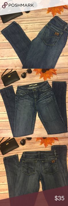 """⚡️⚡️ Joe's Jeans Skinny Visionaire Inseam 31"""" Joe's Jeans Skinny Visionaire Dark Wash In Excellent Condition Like New!!! Approx 13 1/2"""" Inches Flat At The Waist And Approx Inseam 31"""" Joe's Jeans Jeans Skinny"""