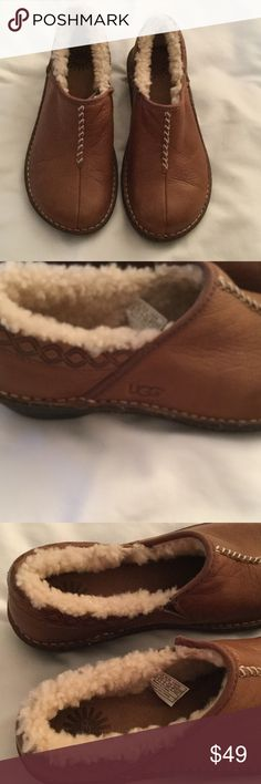 Ugg slip on shoe Ugg toast collie slip on shoe with fuzzy lining UGG Shoes Flats & Loafers
